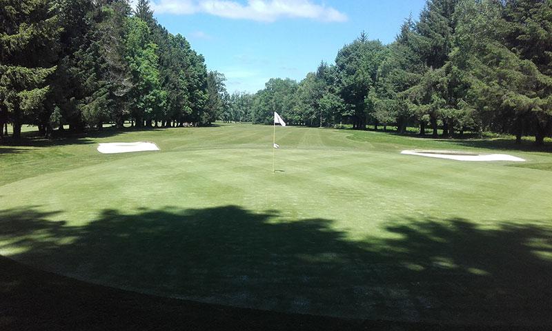 photo parcours golf